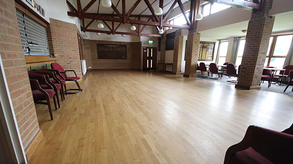 Venue empty space for hire